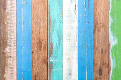 Wood multi color textured. Stock Photos