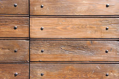 Wood and nails. Wood texture background for design Royalty Free Stock Photo