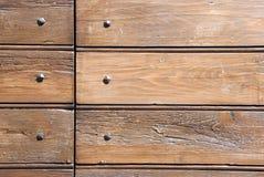 Wood and nails Royalty Free Stock Image