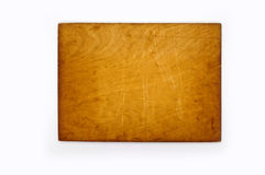 Wood nameplate Royalty Free Stock Image