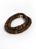 Wood necklace Stock Photography