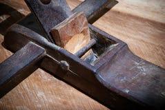 Wood nivåhjälpmedel Arkivbild