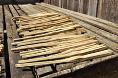 Wood Object Bamboo Stick Day Royalty Free Stock Photography