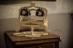 Wood objekt i gammalt foto royaltyfri fotografi
