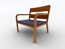 Wood office chair Stock Photos