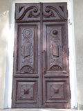 Wood, old door... Royalty Free Stock Photos