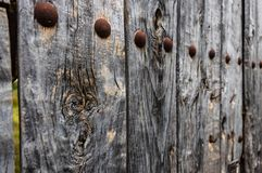 Wood old door royalty free stock photography