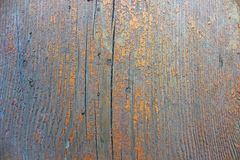 Wood with old paint texture Royalty Free Stock Photo