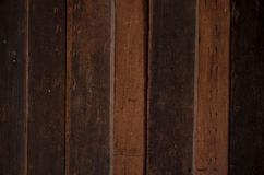 Wood. Vertical brown vertical wood background Royalty Free Stock Photography