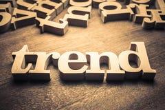 Wood ord för trend arkivbilder