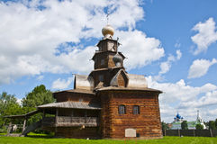 Wood Orthodox Church Royalty Free Stock Photography
