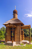 Wood orthodox Church Royalty Free Stock Image