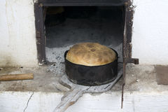 Wood oven bread Royalty Free Stock Image