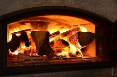 Wood oven Stock Photography