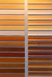 Wood paint colours Stock Image