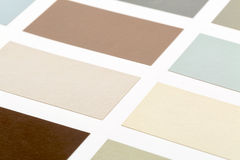 Wood paint samples Stock Images