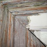 Wood and paint Royalty Free Stock Photo