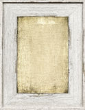 Wood painted frame Royalty Free Stock Photo