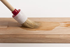 Wood painting Royalty Free Stock Photos