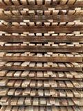 Wood palett Arkivfoton