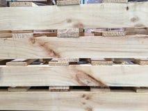Wood palett Arkivbilder
