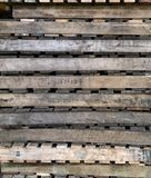 wood paletter Arkivbilder