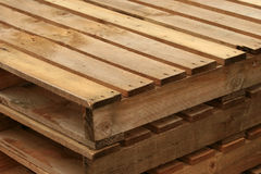 Wood Pallet royalty free stock image