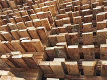 Wood pallet. Texture and background Royalty Free Stock Photo