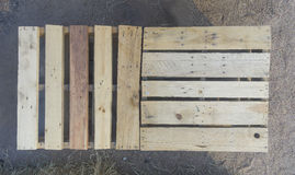 Wood pallet Royalty Free Stock Photography