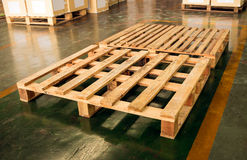 Wood pallet Royalty Free Stock Photos
