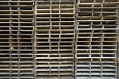Wood Pallets Background 2 Royalty Free Stock Photography