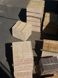 Wood for pallets Royalty Free Stock Photo