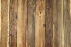 Wood Panel Background, natural brown color, stack vertical to sh Stock Photography