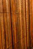 Wood Panel - background. Vertical brown wood panel background Royalty Free Stock Image