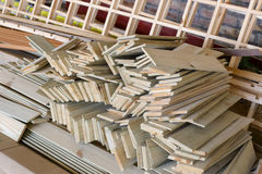 Wood panel Royalty Free Stock Photography