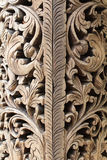 Wood panel decoration Royalty Free Stock Image
