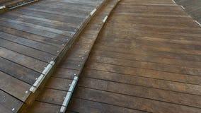 Wood panel för mång- nivåer på Mori Tower i Roppongi Hills, Tokyo Arkivfoto