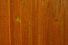 Wood Panel Fence Texture. Wooden fence panel texture, weathered with a medium shade brown colour Royalty Free Stock Photo