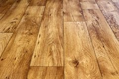 Wood Panel Floor. Wood panelled background floor texture Royalty Free Stock Image
