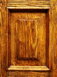 Wood panel with grain background Royalty Free Stock Photos