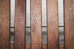 Wood Panel Plate Royalty Free Stock Photos