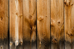 Wood Panel Texture. Close up of wood paneling texture on old barn Royalty Free Stock Photography