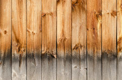 Wood Panel Texture. Close up of wood paneling texture on old barn royalty free stock image