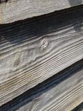 Wood panel (up close shed 1) Royalty Free Stock Image