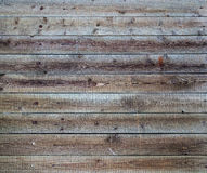 Wood panel wall texture Stock Photography