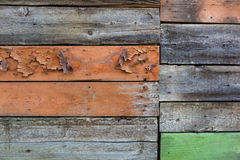 Wood panel wall texture Stock Image