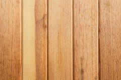 Wood paneler är den vertikala justeringen Royaltyfria Foton