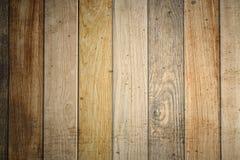 Wood paneler för gammal grunge som används som bakgrund Royaltyfria Bilder