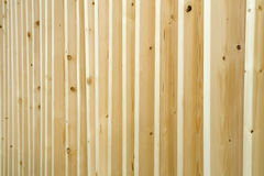 Wood paneler i rad Royaltyfria Bilder