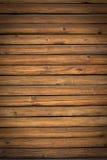Wood paneling. Detail of old wood paneling Stock Photos